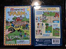 magnetic farm set M579-FM - 54 MAGNETS AND 2 CARDS