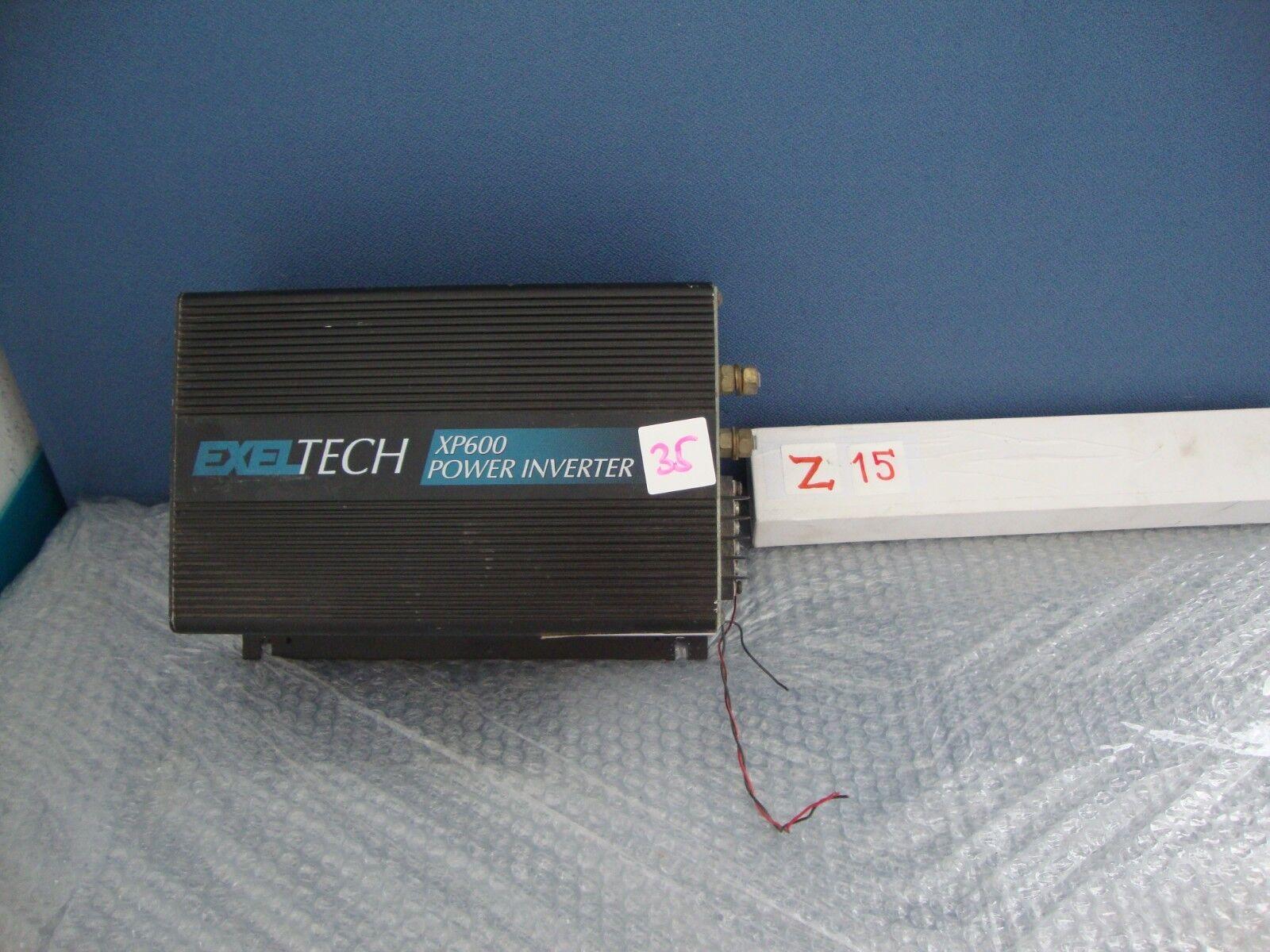 EXELTECH XP600 power Inverter