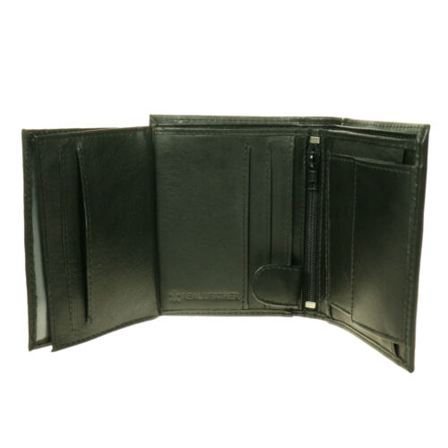 Small Luxury Multi Compartment Mens Credit Card//ID Holder Leather Wallet  6018