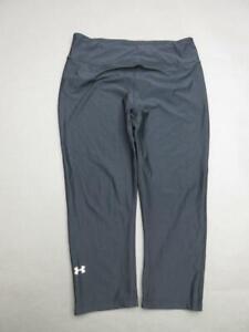 Under-Armour-Size-M-Womens-Black-Athletic-HeatGear-Compression-Legging-T345
