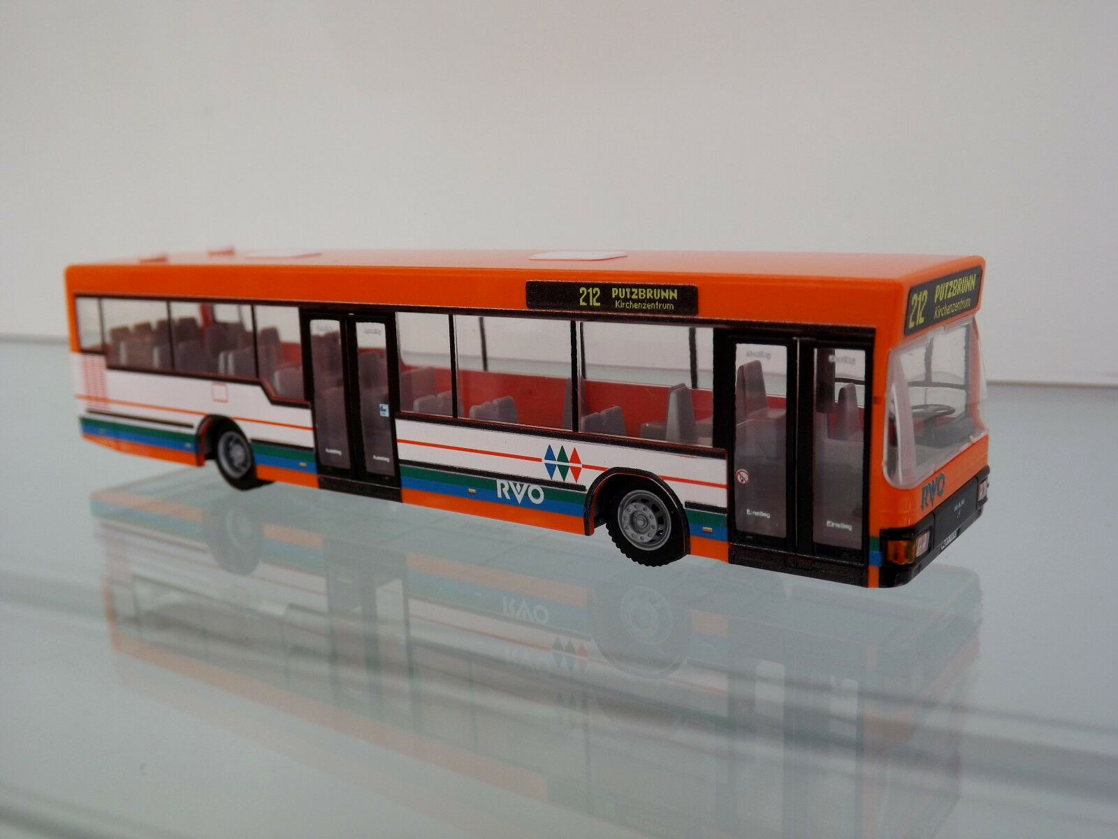 RIETZE 75018 - H0 1 87 Bus - MAN NL 202-2 RVO - NEU in OVP