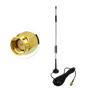 9dBi 4G LTE SMA Male Magnetic Base Antenna for 4G LTE Cell Phone Signal Booster