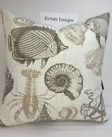Richloom Solarium Outdoor Sealife Driftwood Pillow Cover 20 X 20