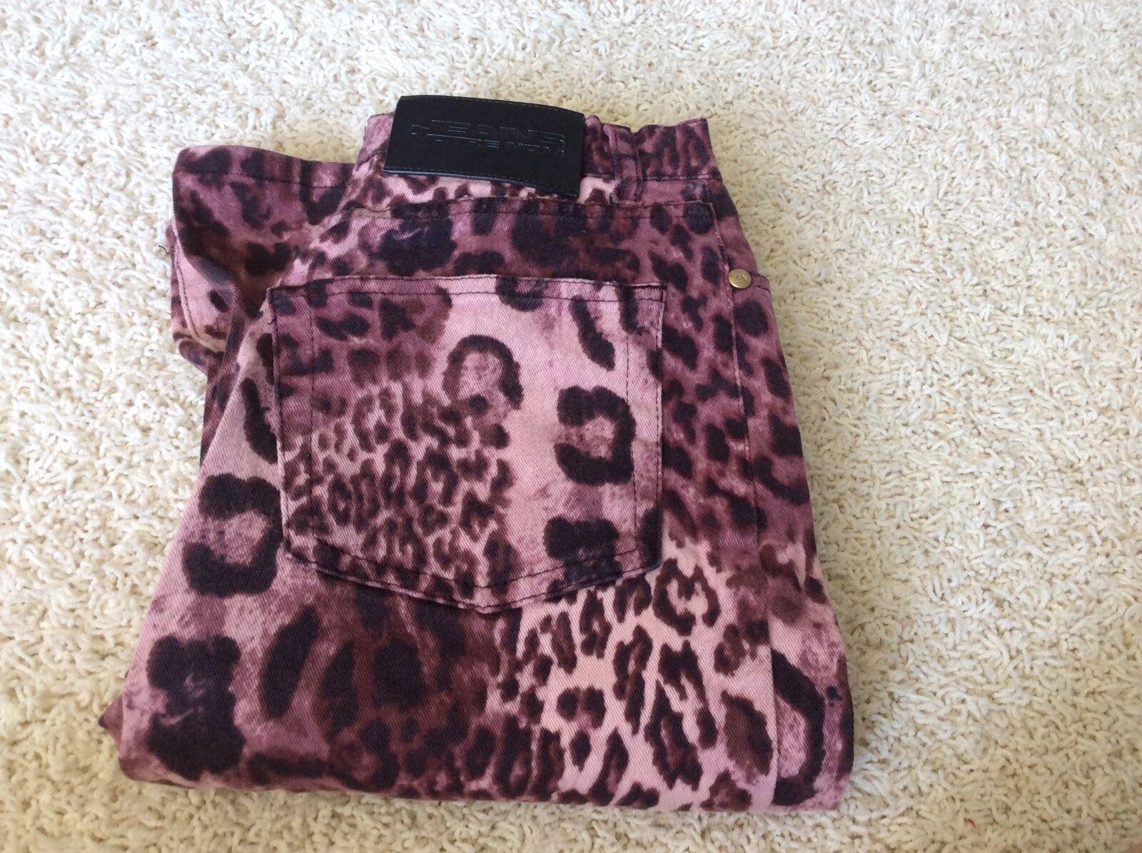 Votre Nom Jeans Cotton Spandex Purple  Denin Straight Waist Belt Loops Small