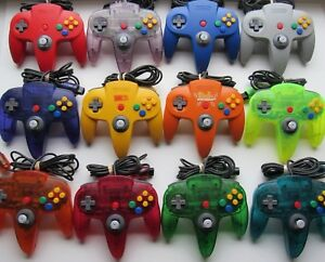 Good-Working-Nintendo-64-N64-Authentic-OEM-Controllers-Red-Blue-Green-Yellow
