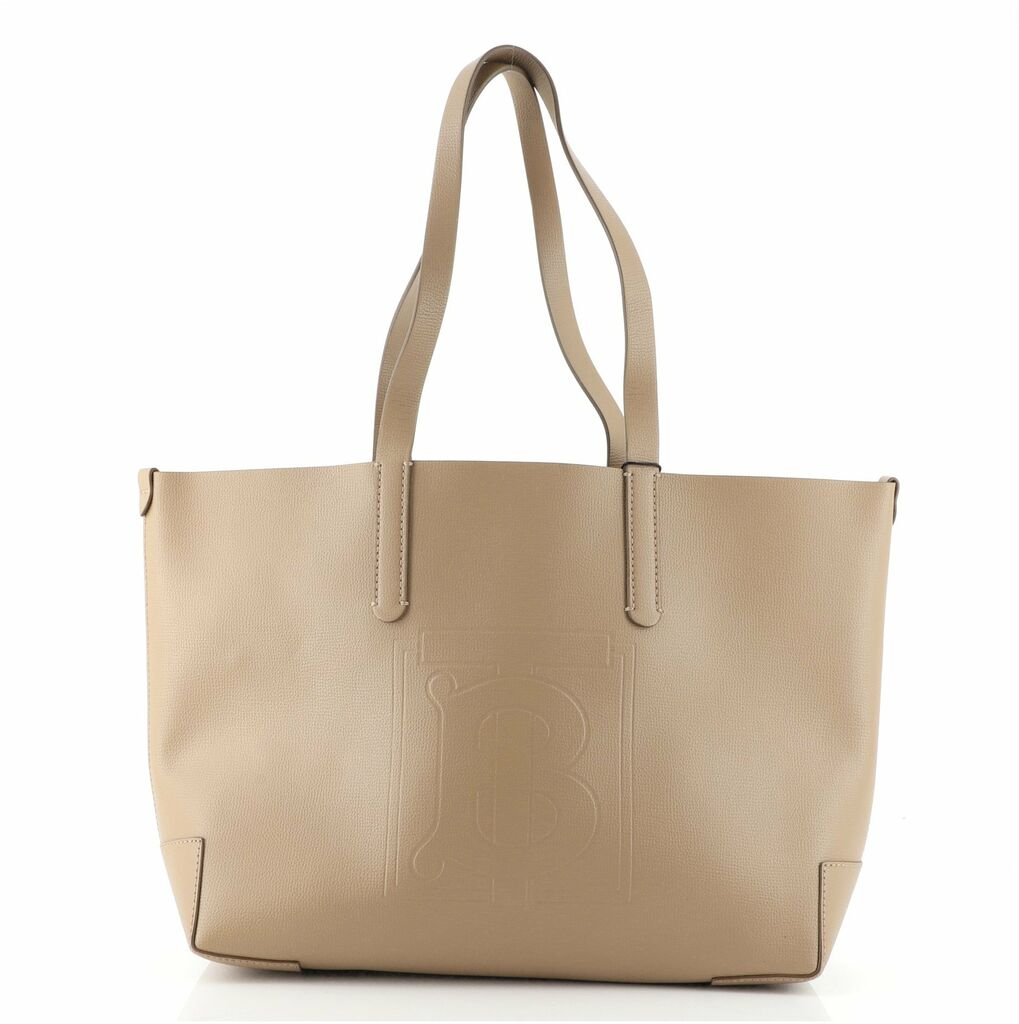 Burberry TB Shopping Tote Leather Large    eBay