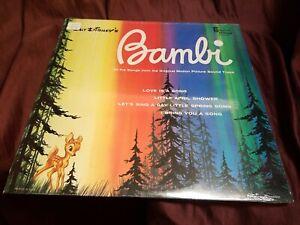 DISNEY-BAMBI-Original-Movie-Soundtrack-12-034-Vinyl-LP-1963-Original-issue-New