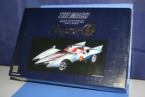 SPEED-RACER-Special-edition-034-Silver-and-Blue-Metallic-034-1-24-Aoshima-JAPAN