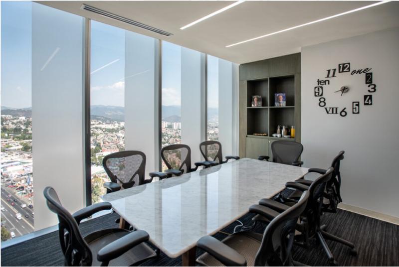 Oficina En Renta En Centro De Negocios En Torre Porsche Para 10 Personas (m2o72)