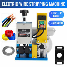 Powered Electric Wire Stripping Machine Portable Metal Tool Scrap Cable Stripper