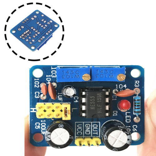 NE555 Frequenz Taktgeber Modul Pulse Generator für Arduino Raspberry Pi NEU