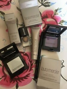 80-MAKEUP-lot-BUNDLE-LAURA-MERCIER-EYE-SHADOWs-Primer-liner-Pencil-xmas-GIFT