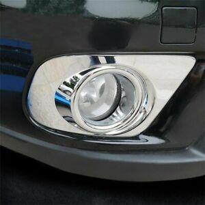 For-Dodge-Journey-2011-18-Chrome-Front-Fog-Light-Lamp-Bumper-Cover-Trim-Molding