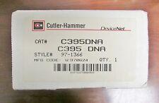 Cutler Hammer Devicenet C395 Dna Device Net Overload Relay 97 1366