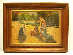 Scena-Orientalista-All-039-Interno-di-una-Palm-Grove-Xavier-Vinolas-Vignolas-Paint