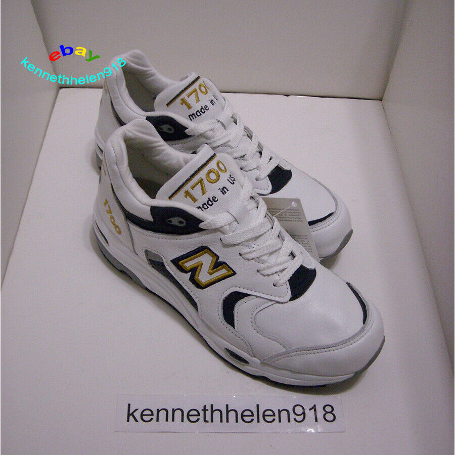NEW BALANCE 1700 1700 1700 HERITAGE LEATHER RUNNING scarpe MADE IN USA M1700WN Uomo Dimensione 7 1022db