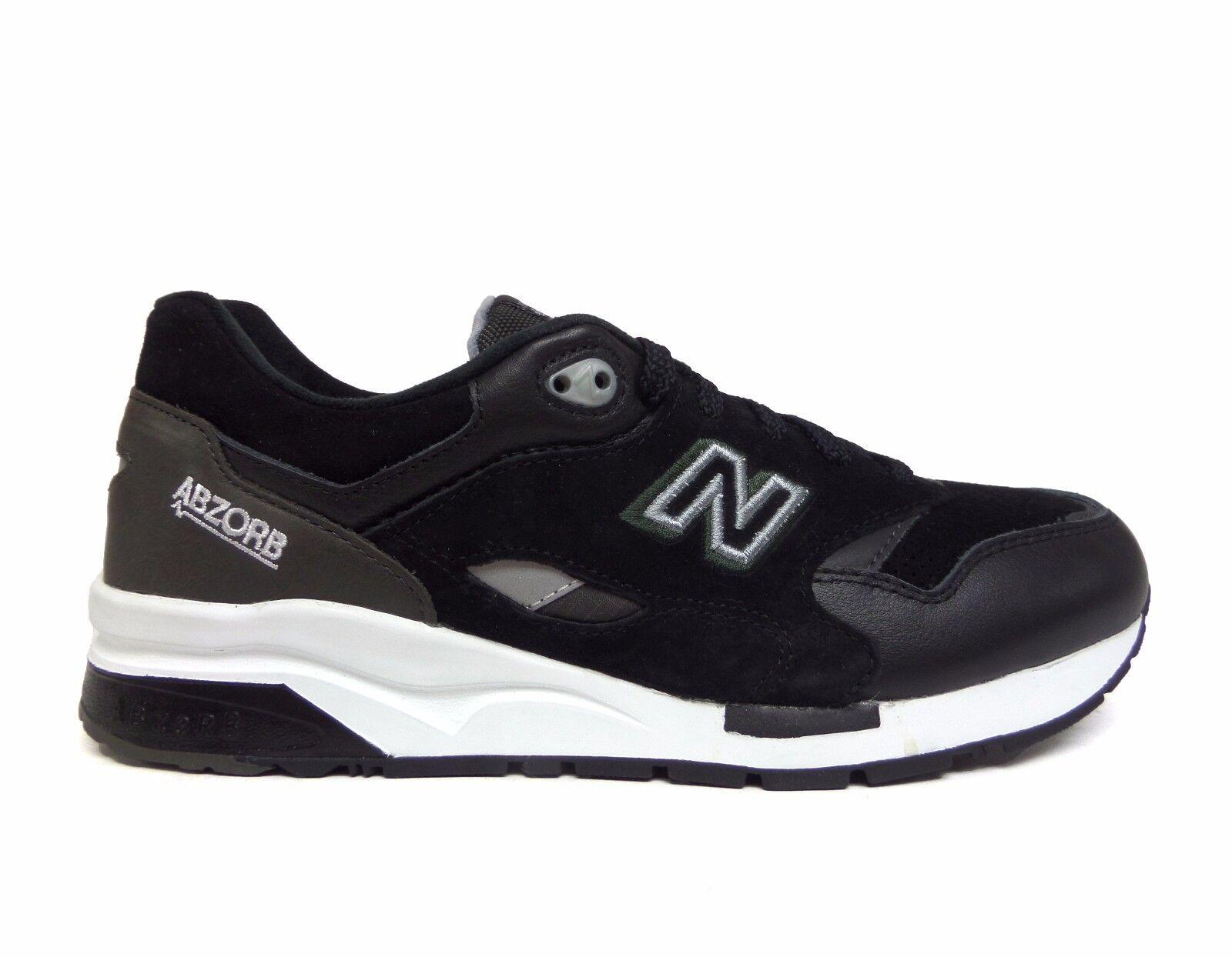 New Para hombre CM1600 Classic correr Balance Zapatos Negro gris CM1600GT a1