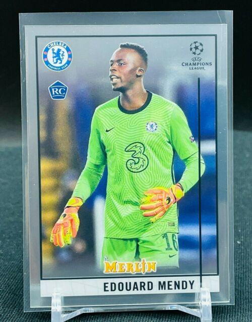2020-21 Topps Chrome UEFA Merlin RC Edouard Mendy BASE