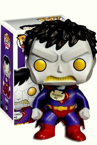 """Exclusive DC COMICS bizarro 3.75/"""" figurine en vinyle POP FUNKO 64"""