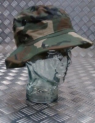 Military Style Special Forces Boonie / Bush Hat Short Brim Dpm W/land Camo New