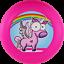 Indexbild 1 - NG - Eurodisc175g Ultimate Frisbee Einhorn Rainbow PINK BIOKunststoff nachhaltig