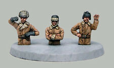 TQD RT1 20mm Diecast WWII Red Army Winter Tank Crew (half figures)