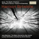 Harrison Birtwistle: Nenia; The Fields of Sorrow; Verse for Ensembles (CD, May-2008, Lyrita)