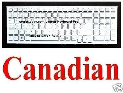 CA 148970441 Keyboard for SONY VPCEG VPCEG15FD VPCEG23FD VPCEG25FD VPCEG35FD