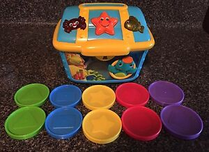 Baby Einstein Musical Counting Treasure Chest 10 Coins Learning Educational Toy