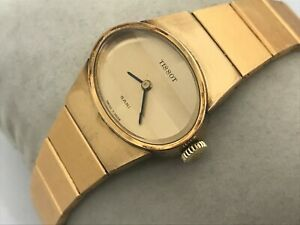 Tissot Sari Ladies Watch Swiss Made Gold Tone Analog Wrist Watch