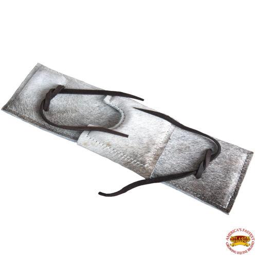 C-P104 hilason cheveux sur cuir véritable Super Pro RODEO équipement Bull Rope Pad