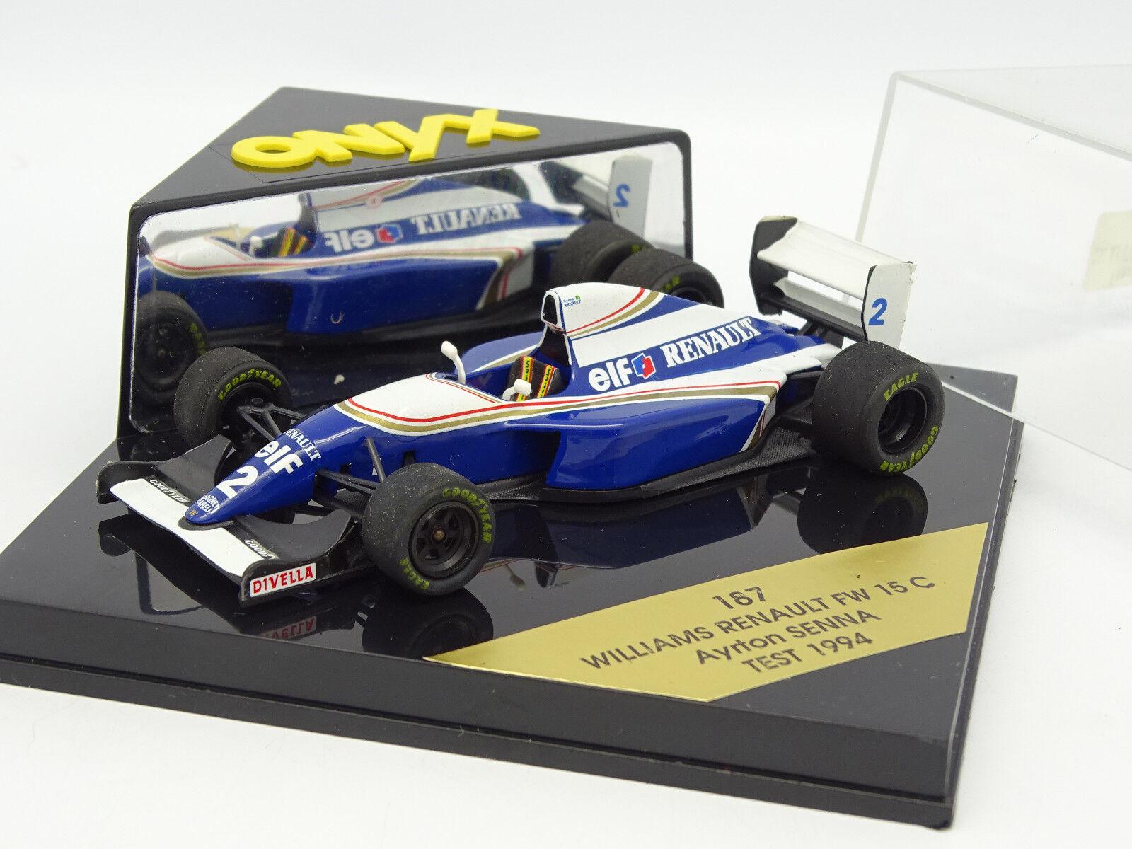 Onice 1 43 - - - F1 Williams Renault FW15C Senna Test 1994 B 728e78