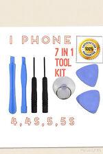 Tool kit for i Phone 4, 4s, 5, 5s,6,6s, SE.......7 in 1 kit.... FREE POSTAGE...
