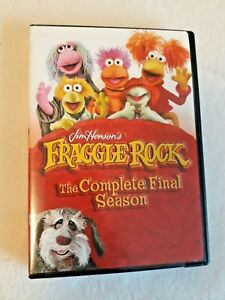 Jim Henson's FRAGGLE ROCK Complete Final Season DVD set