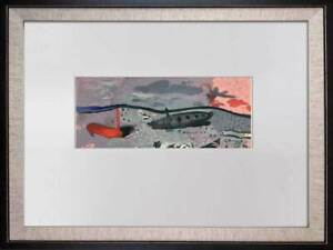 Georges-BRAQUE-Limited-Edition-Lithograph-SIGN-034-Bord-034-w-Frame