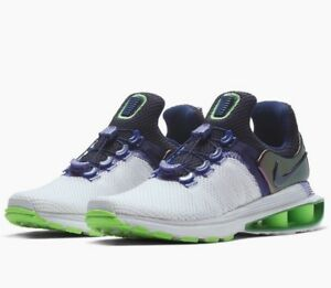 the latest 70bdf 067ad Image is loading Womens-Nike-SHOX-GRAVITY-Running-Shoes-Retail-150-