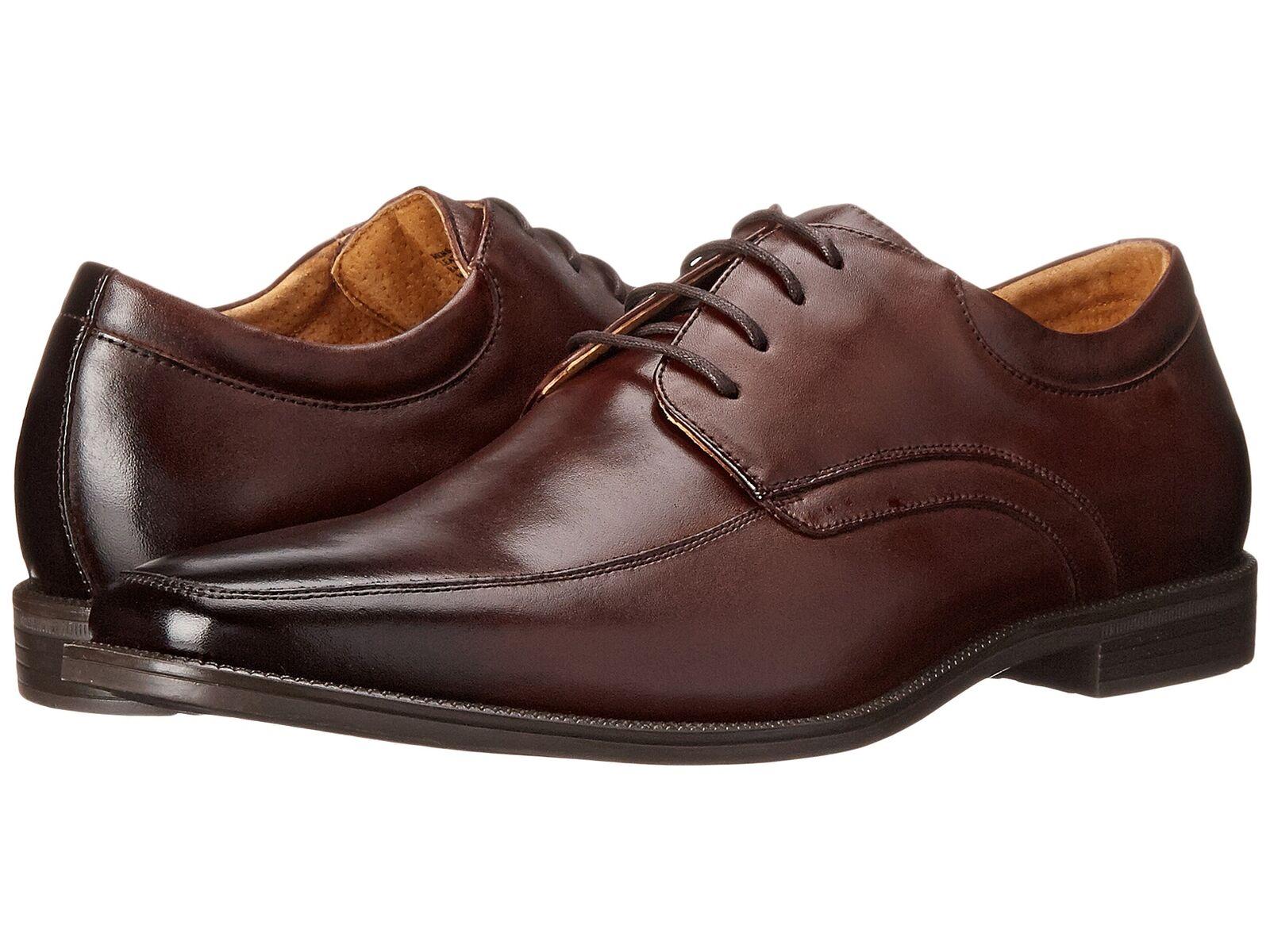 Florsheim Hombre Cuero Marrón Forum Moc Toe Oxford Zapatos 14153-200