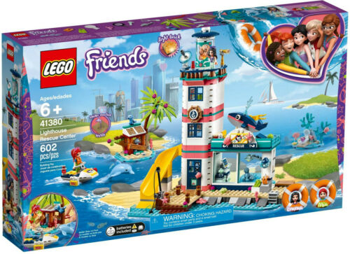 LEGO Friends 41380 Leuchtturm mit Flutlicht Neu OVP