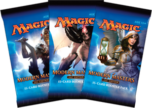 Magic-Mtg-Modern-Masters-2017-Factory-sealed-Booster-Pack-X-3