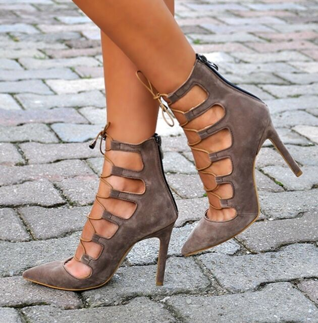 FASHION WOMAN SHOES SPECIAL DESIGN HIGH HEELS LEATHER TRENDY NIGHT FOR FULLDRESS