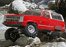 1/10 1986 Chevrolet K-5 Blazer Ascender 4WD RTR RC ROCK CRAWLER WATERPROOF