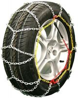 185/60-14 Tire Chains Diamond Back Link Snow Traction Device Passenger Vehicle