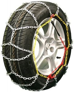 205//40-17 205//40R17 Tire Chains Cobra Cable Snow Ice Traction Passenger Vehicle