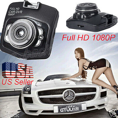 "2.4"" Full HD 1080P Car DVR Vehicle Camera Video Recorder Dash Cam G-sensor HDMI"