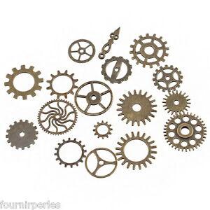 1-Set-Pendentif-en-Forme-de-Roue-Dentee-d-039-engrenage-Bronze-Bijoux-DIY-Creation