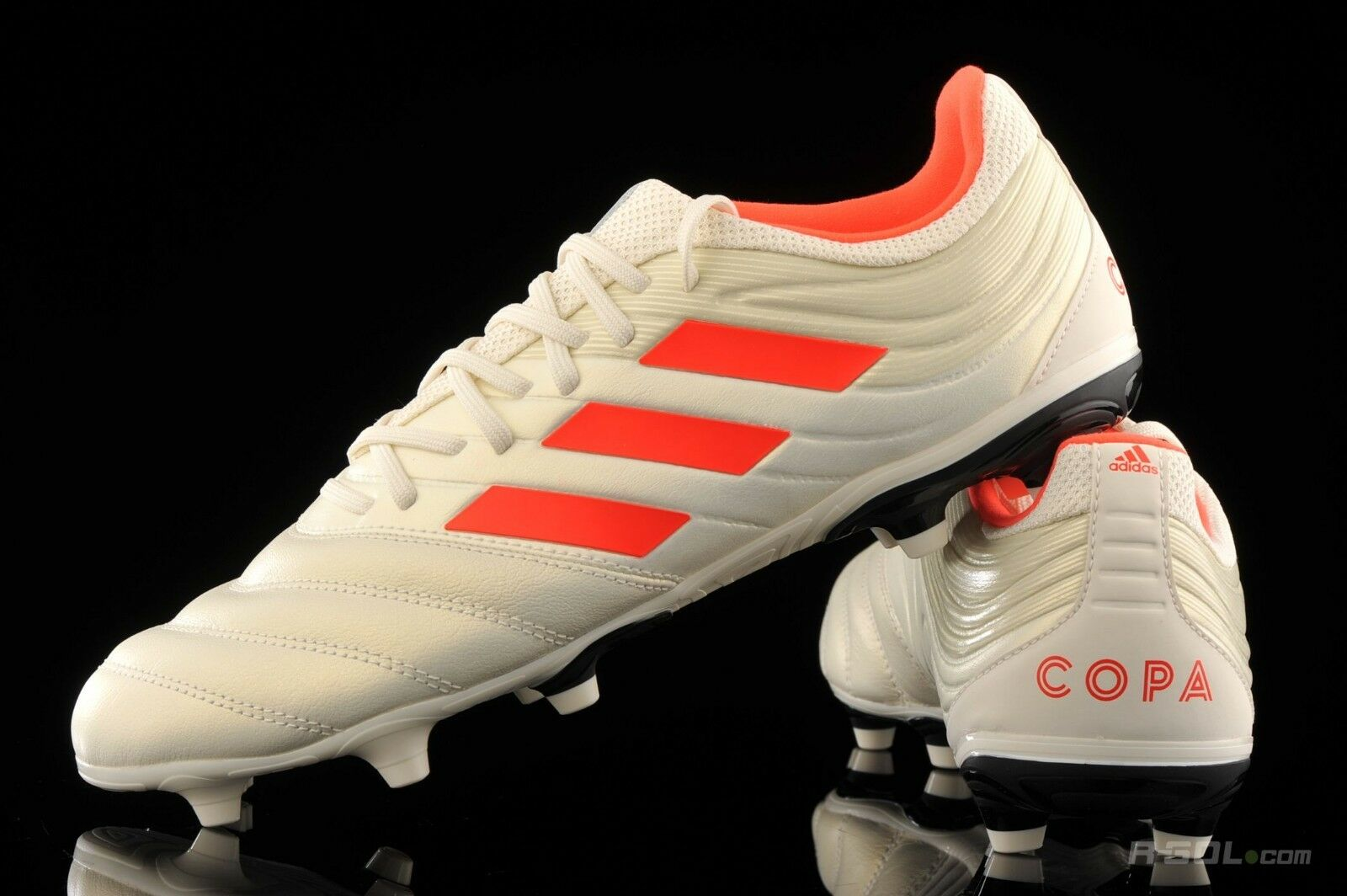 a38e3c8ba Adidas Copa 19.3 FG Soccer Cleats Off White Solar Red BB9187 8 8.5 9 9.5 10