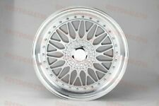 19 Staggered Silversilv Rs Style Rims Wheels Fits Mercedes Benz 5x112 S Class