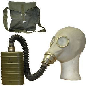 Soviet-Gas-Mask-With-Bag-And-Filter-Genuine-Russian-Army-Military-Surplus