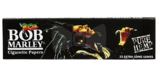10x Bob Marley Pure Hemp King Size Rolling Papers *AUTHENTIC* USA Shipped