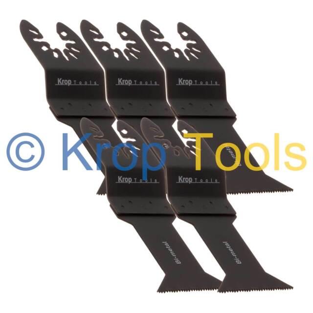 5 Multi Tool Blades Stanely FatMax Worx Hyperlock 44mm Bi-Metal by KROP